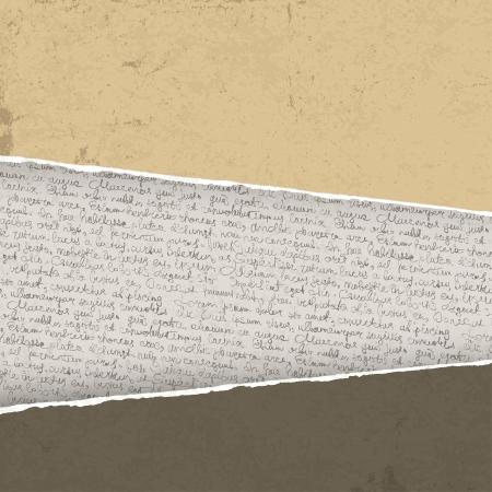 type writer: Vintage sfondo strappata con scritture