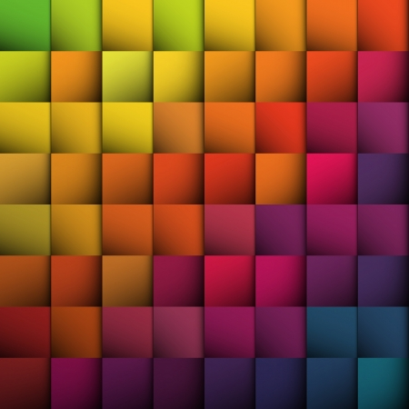 Abstract squares background. Vector, EPS10 Stock Vector - 18586188