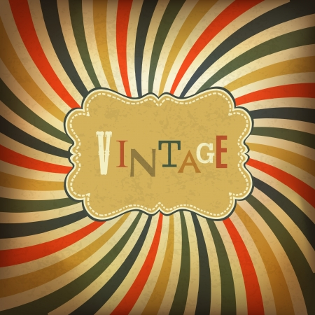 Grunge vintage background. Vector, EPS10 Stock Vector - 18586251