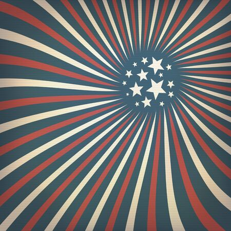 independance day: Abstract american flag themed background with stars.