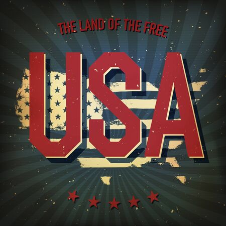 independance: The land of the free - USA.