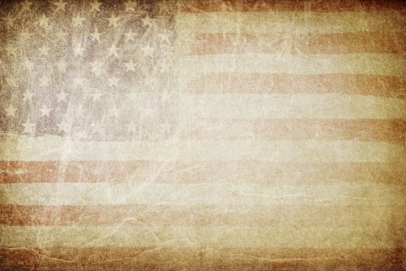 independance: Grunge american flag background. Perfect for text placing.