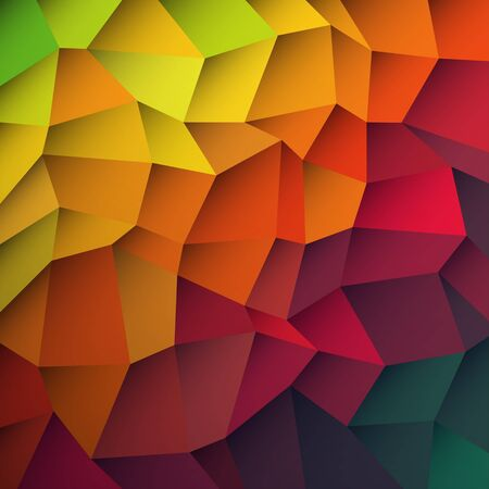Abstract colorful patches background. Vector, EPS10 Stock Vector - 19919587