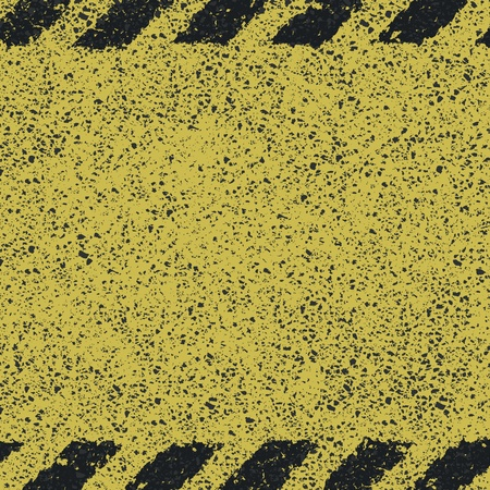 Dangerous pattern on asphalt texture Stock Vector - 19926106