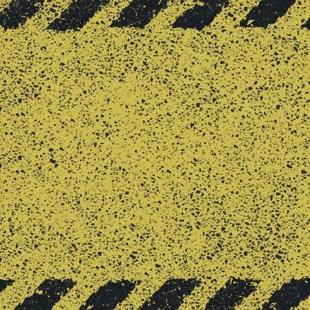 Dangerous pattern on asphalt texture Stock Vector - 19926106