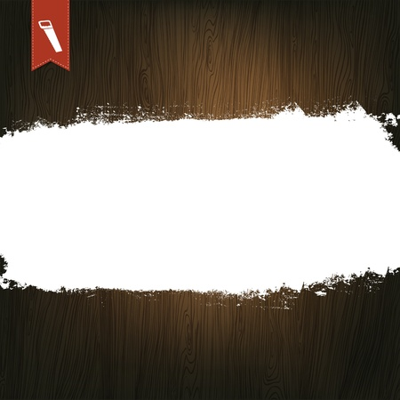 Wooden Background, With Space For Text. Vector