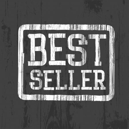 Best seller stamp. Stock Vector - 20145963