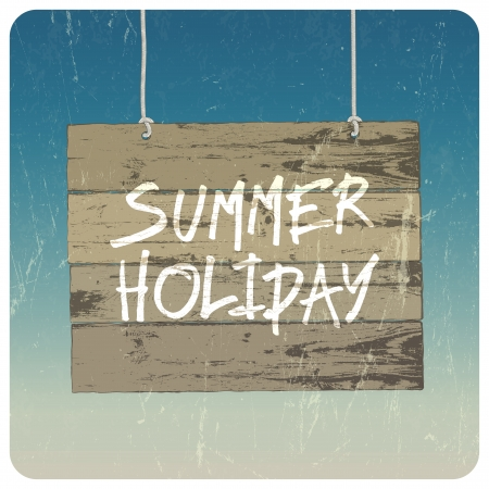 Summer holiday poster Stock Vector - 20146017