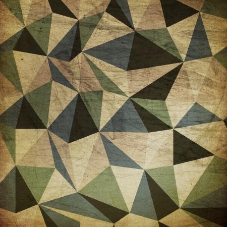 arlecchino: Retro triangoli sfondo