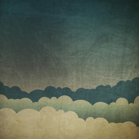 Vintage grunge sky background. Stock Photo - 20145876