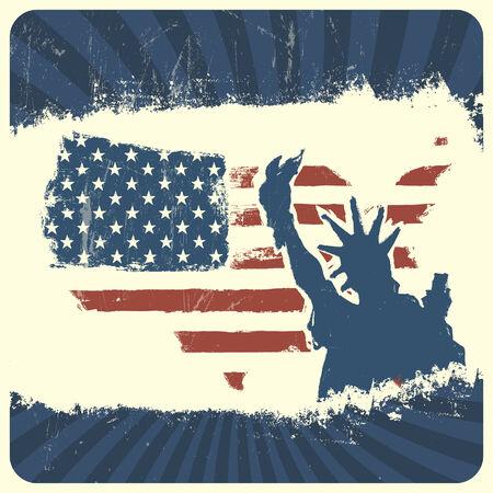 patriotic background: Patriotic background. Vector, EPS10