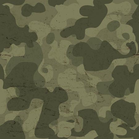 camuflaje: Los militares camuflan el modelo inconsútil. Vector Vectores