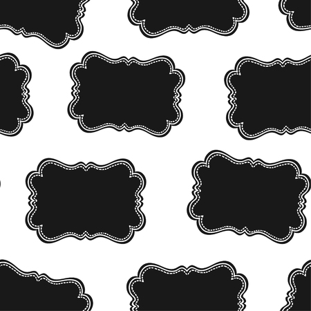 discolored: Seamless Wild West Labels Pattern. Vector