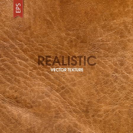 Realistische leder vectortextuur