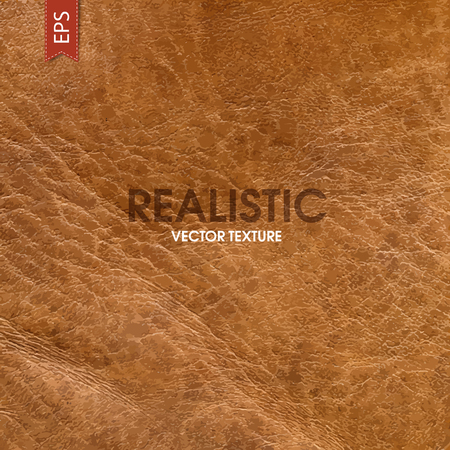 Realistic leather vector texture