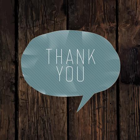 thank you card: Thank you card design