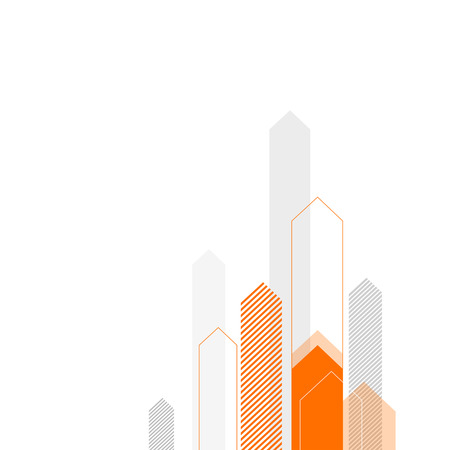 Abstract Business Background with Stylized Arrows to Up. For Cover Book, Brochure, Annual Report etc.