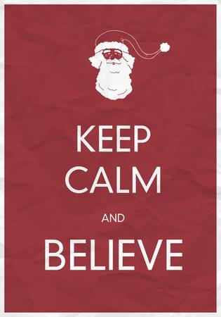 believe: Mantener la calma y creer