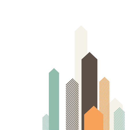 financier: Stylized Arrows to Up. For Cover Book, Brochure, Annual Report etc.