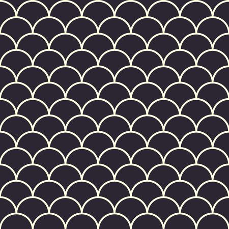 물고기는 원활한 패턴을 저울