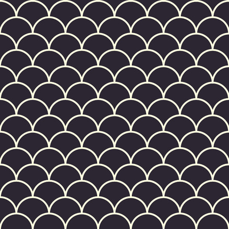 waves pattern: Fish Scales Seamless Pattern