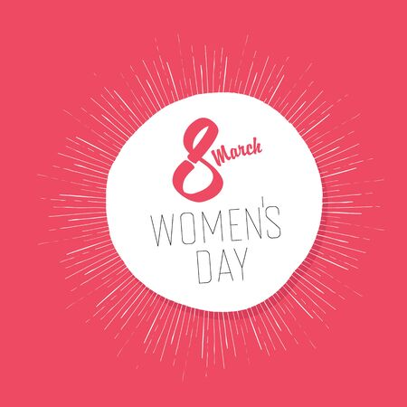 womens: 8 March, Womens Day Card