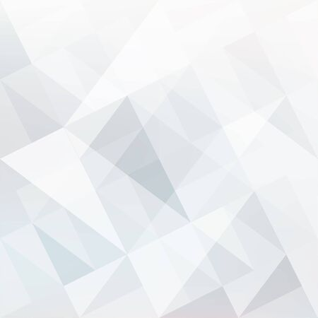 white patches: Abstract white background with triangles shapes