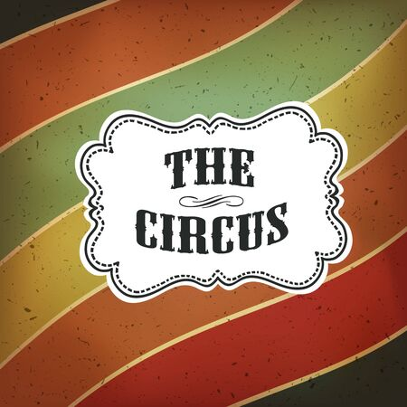 circus vector: Circus Abstract Poster with Colored Lines, Vector Background