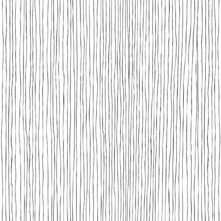 Seamless vertical lines hand-drawn pattern Çizim