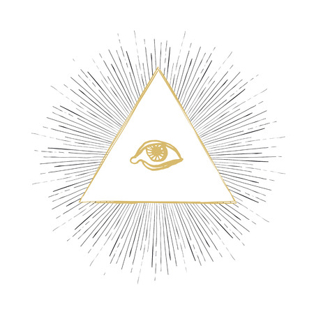 all seeing eye: All Seeing Eye Illustration
