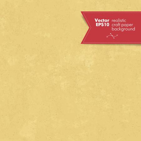 シームレスなクラフト ペーパー テクスチャ  イラスト・ベクター素材