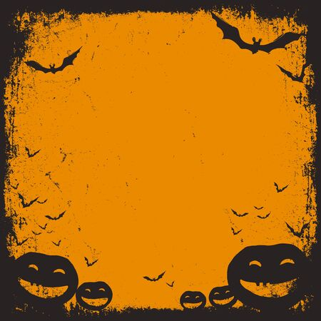 necrosis: Halloween themed background with space for text