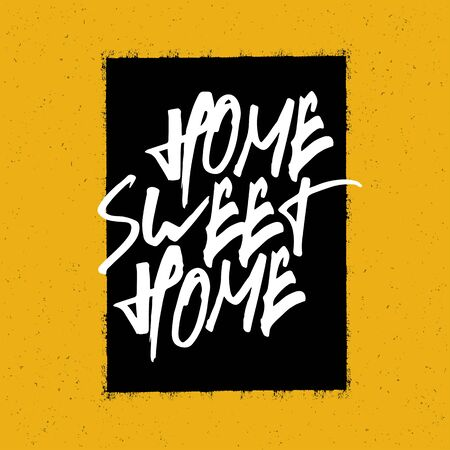 sweet: Home sweet home poster