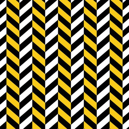 black yellow: Seamless Geometric Pattern