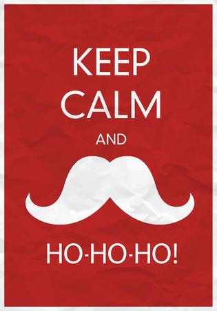 Keep Calm And Ho-Ho-Ho!
