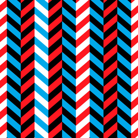 red white blue: Seamless Geometric Red and Blue Pattern