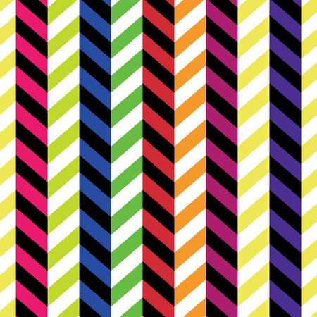 seamless colorful chevron pattern vector royalty free cliparts rh 123rf com Gingham Pattern Vector seamless chevron pattern vector