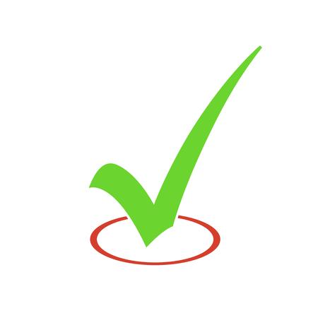 check sign: Check Mark Vector Sign Illustration