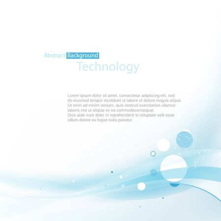 abstract technology: Blue abstract technology background. With space for your text