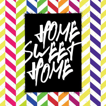 homely: Home sweet home poster
