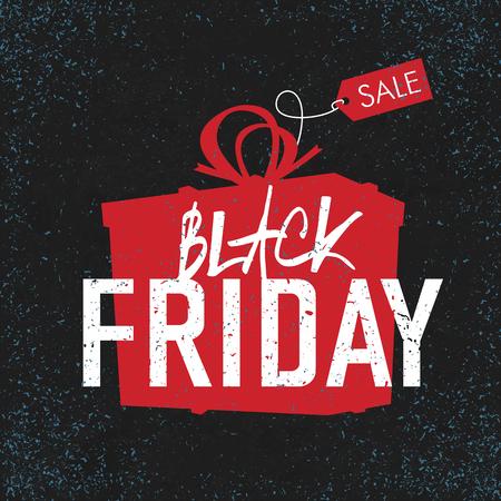 Black Friday sales Advertising Poster. 일러스트