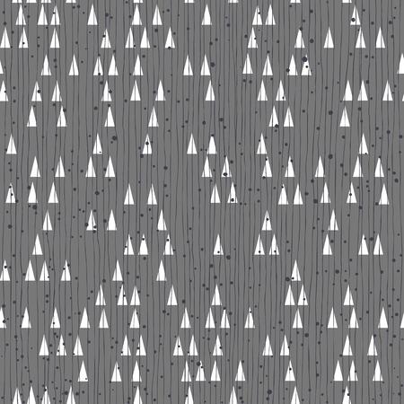 Geometric retro seamless pattern.