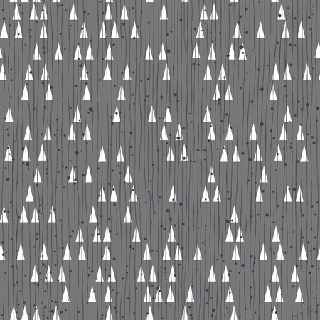 Geometric retro seamless pattern.