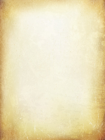 Grunge vintage old paper background. Vector