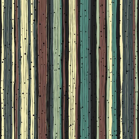 beige: Abstract retro pattern. Seamless hand-drawn lines and dots vector design.