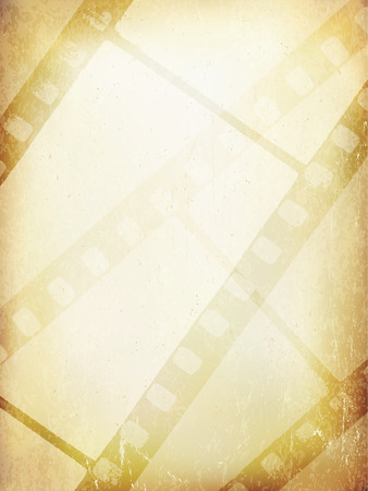 filmstrip: Old Filmstrip Abstract Background. Vector Template