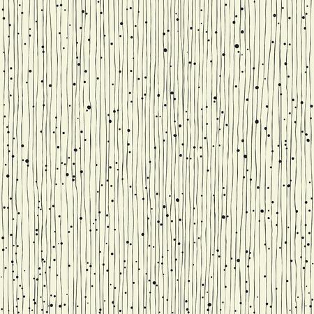 lineas verticales: líneas verticales finas y puntos. Sin fisuras patrón dibujado a mano