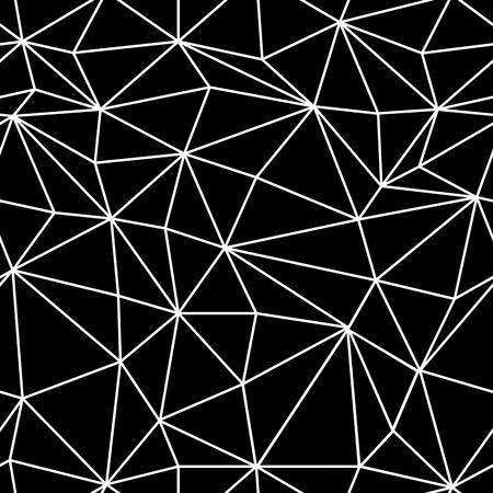 poligonos: Estructura metálica de superficie modelo abstracto sin fisuras Vectores