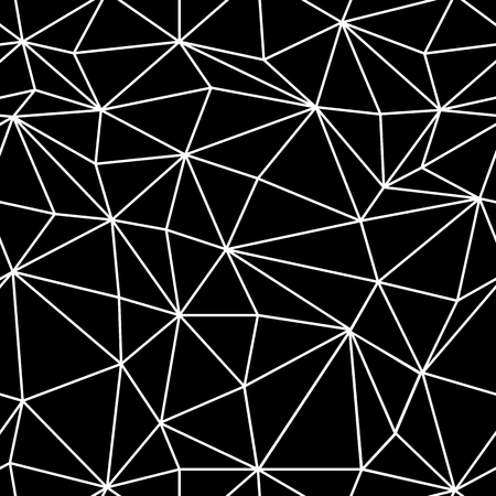polygons: Wireframe Abstract Surface Seamless Pattern