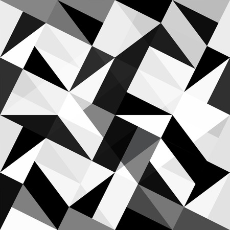 white patches: Seamless triangles background